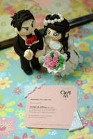 wedding clay by eruphie