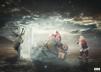 Santa is coming by mastadeath