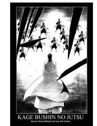 Kage bushin no jutsu by Atsugai