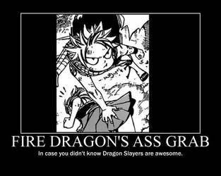 Fire Dragon's Ass Grab by Atsugai