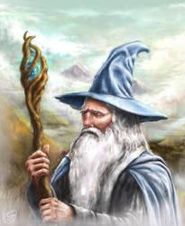 Gandalf the Grey by Sam-JMA