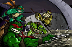 TMNT Assemble by AngelofHeaven13