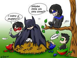 Batman Mamma by victorreno
