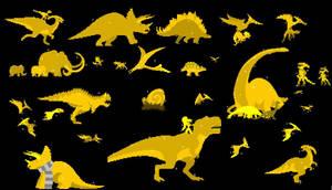 Shiny Dino Run 2 Bundle by CherryAtTheTavern