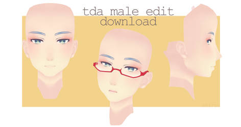 Tda Male Face DOWNLOAD by shiryohere