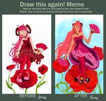 Draw Again: Jus de Pamplemousse by Soozan