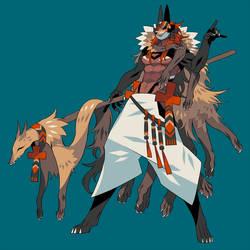 Foxy shaman by edrw