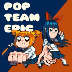 POP TEAM EPIC by edrw