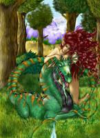 Green Dragon by Aisela