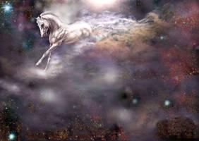 White Horse by Aisela
