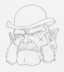 Bowlerhat-orc by Abercrombe