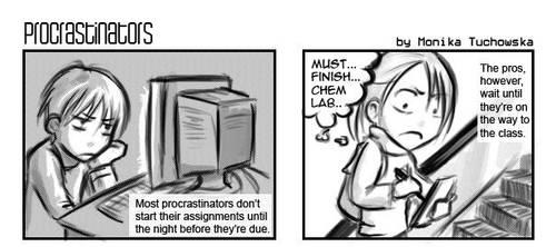 procrastinate - it can wait by arseniic