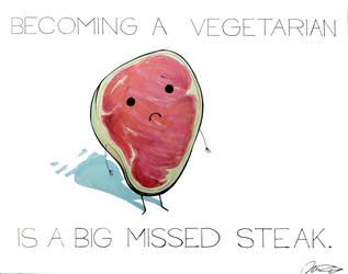 Being vegetarian is... by arseniic