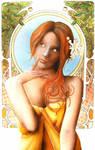 Tribute to Mucha by arpiwane
