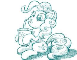 Pinkie's Soda by LateCustomer