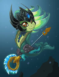 Ponyfied Nami by LateCustomer