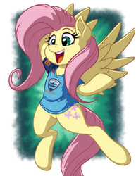 Fluttershy London Spitfire - Commission by LateCustomer
