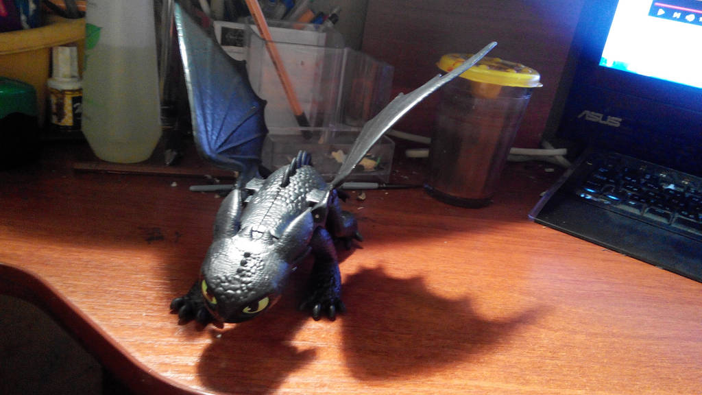 Toothless: Toy II by diom1993