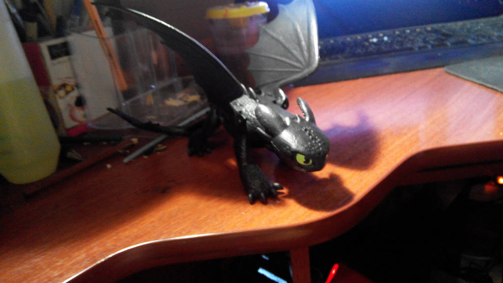 Toothless: Toy III by diom1993