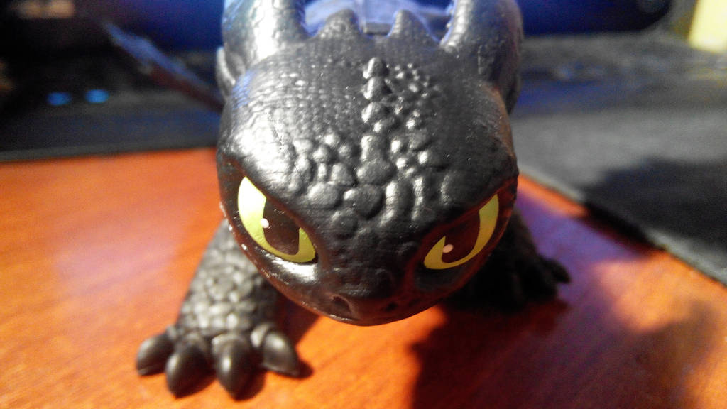 Toothless: Toy V by diom1993