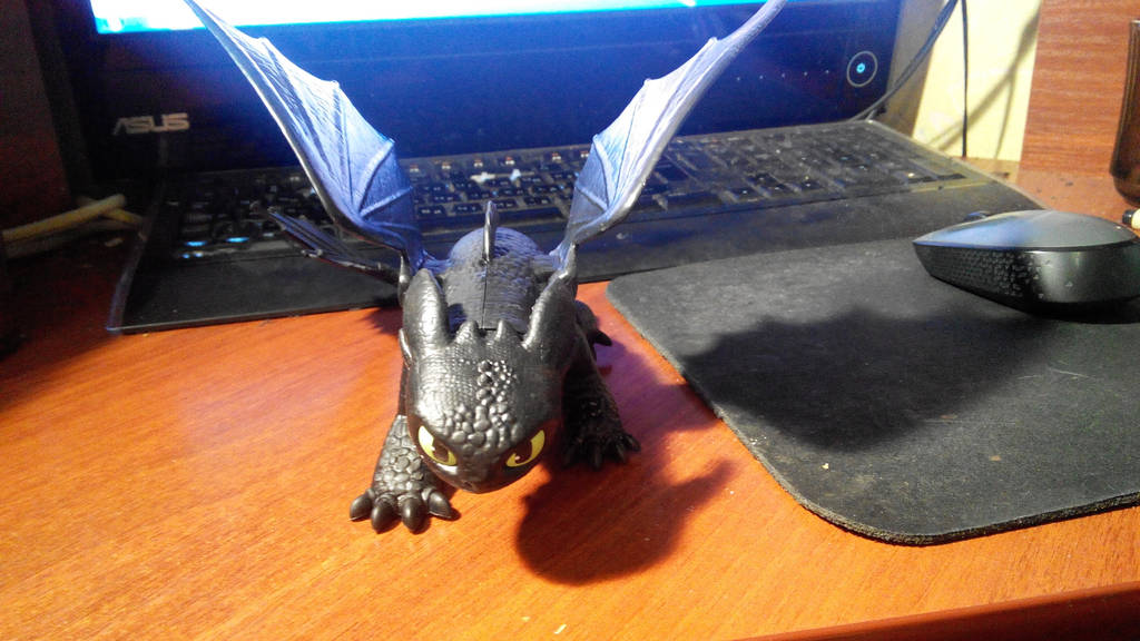 Toothless: Toy VI by diom1993