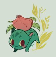 Ivysaur by tinysnail
