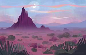 desert by tinysnail