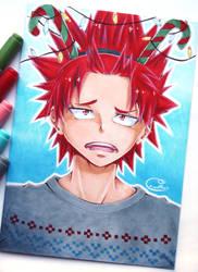 [Traditional Art] Christmas Kirishima by Eeveella