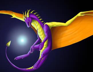 Spyro 1 by Lucie-P