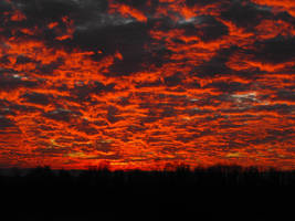The Sky is on Fire by emmasea