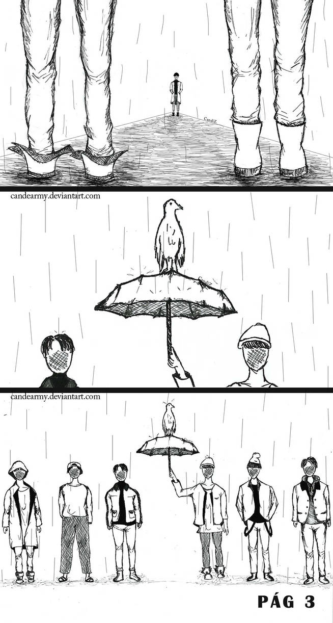 Rm Namjoon And Bts Forever Rain Mono Page 3 By Candearmy On