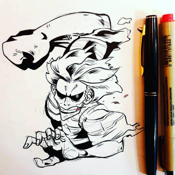 inktober day 2! by Das-Boog