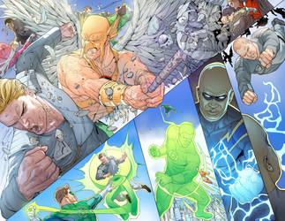 Superman 683 page by DavidCuriel
