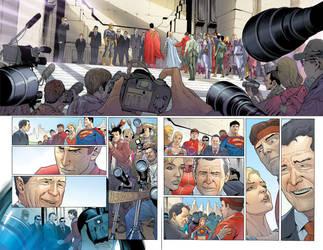 Superman 683 page 2 by DavidCuriel