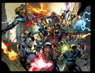 Secret Invasion page by DavidCuriel