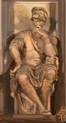 Michaelangelo Sculpture by DavidCuriel