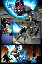 NOVA #6 , page 1 by DavidCuriel