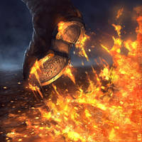 Walk Of Flames by dekades8