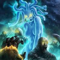 Ghostly Gorgon by dekades8