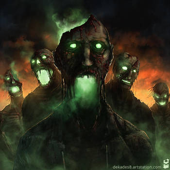 Zombie Plague by dekades8