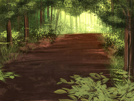 Summer Forest by Noire-Ighaan
