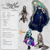 Althea - Character Card by Noire-Ighaan