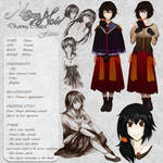 Faina - Character Card by Noire-Ighaan