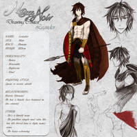 Leander - Character Card by Noire-Ighaan