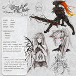 Ebola - Character Card by Noire-Ighaan