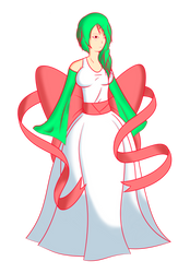 Gardevoir -- Gijinka -- by JoltJolteon