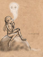 The Bubble Ghost by Keks--Kruemel