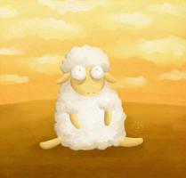 Schaf by Keks--Kruemel