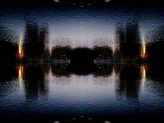 Pond Gate by iambinarymind