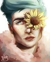 Sunflower by MrThesaurus